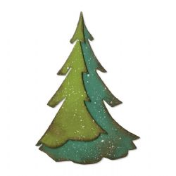 664217 - Sizzix Bigz Die - Layered Pine by Tim Holtz